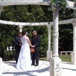 Cavender Castle gazebo ceremony site