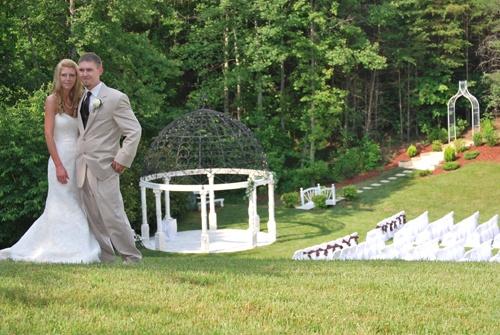 Cavender Castle Wedding Gazebo