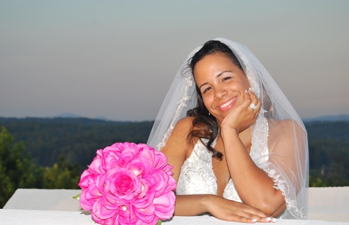 Bride thinking about Favorite Wedding Venues in North Georgia