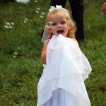 North Georgia Wedding Flower Girl