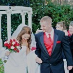 Marijo & Steven's Recessional at their North Georgia Wedding