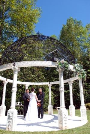 small wedding venues in Georgia - Castle Old World Gazebo