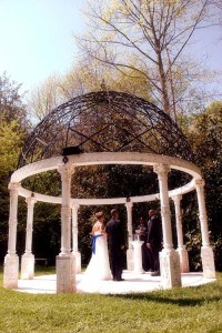 Old World Gazebo- Home for elopements packages in Georgia