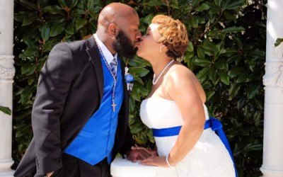 Intimate North Georgia Wedding Ceremony of Monica & Marlon