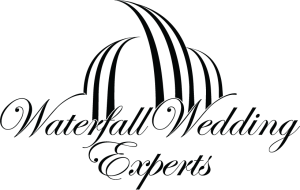 Waterfall Wedding Logo Black